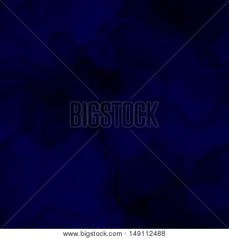 Dark deep blue smoky diffuse background image