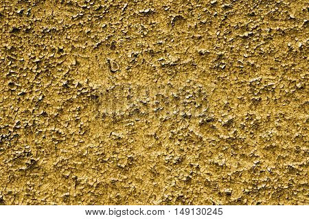 Texture Of Old Grunge Yellow Asymmetric Decorative Tiles