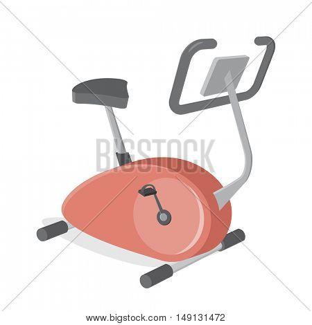 indoor bike trainer clipart