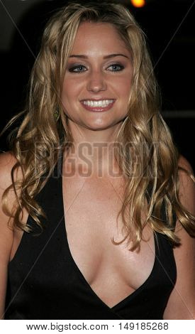 Becky Boxer at the World premiere of 'Jarhead' held at the Arclight Cinemas in Hollywood, USA on October 27, 2005.