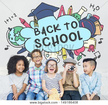 Back To School Education Academics Study Concept