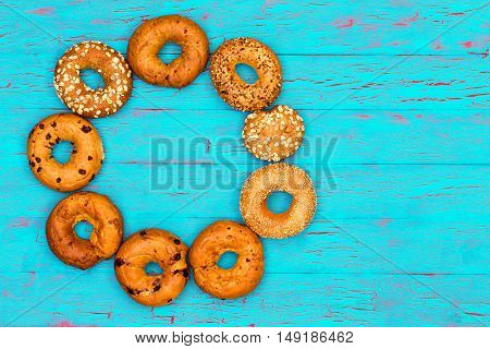 Ring Of Assorted Gourmet Fresh Bagels