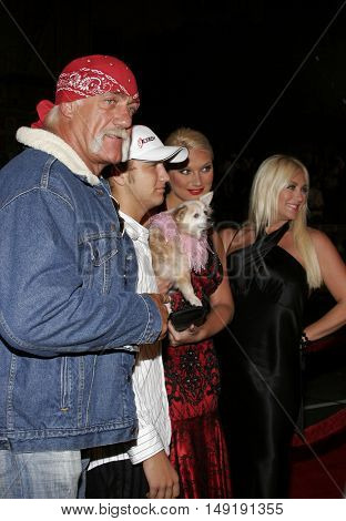 Hulk Hogan at the Los Angeles premiere of 'Get Rich or Die Tryin' held at the Grauman's Chinese Theatre in Hollywood, USA on November 3, 2005.
