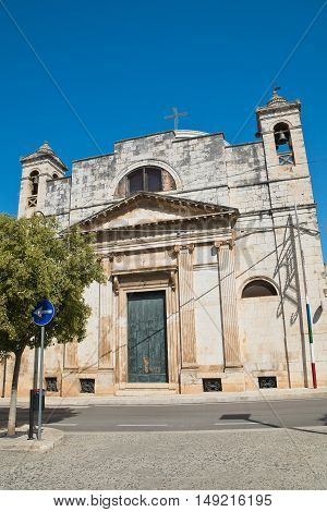 Church of Carmine. Rutigliano. Puglia. Southern Italy.
