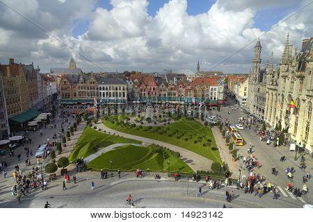 Brugge Markt Garden