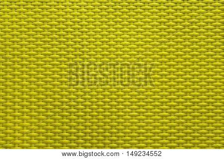 Yellow golden texture basket weave pattern handmade for background
