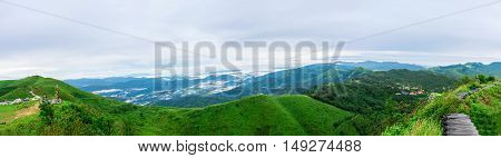 Beautiful Nature and Sky for Unseen Thailand and Top Travel at Thong pha phum National Park kanjanaburi ,Thailand