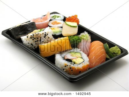 Assorted Sushi Lunch