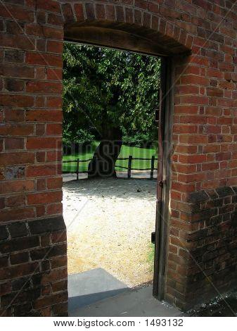 Brick Doorway