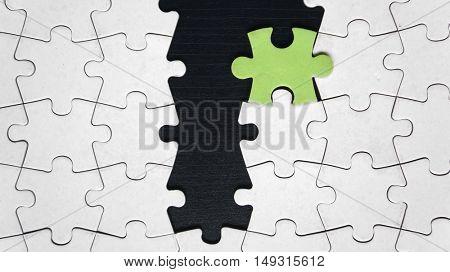 One odd puzzle piece