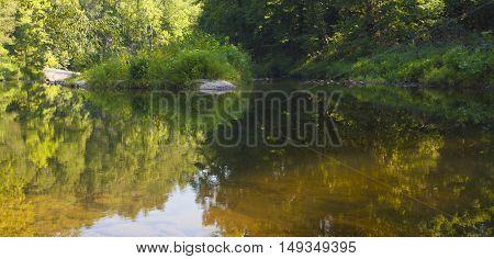 Upper end of Wilson Creek in North Carolina