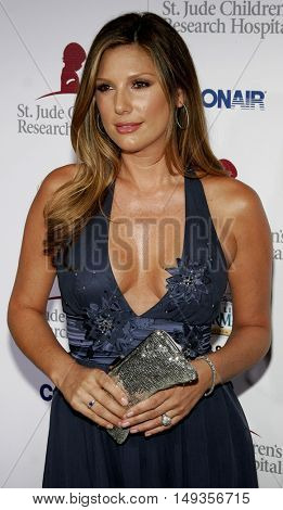 Daisy Fuentes at the 'Runway For Life' Benefiting St. Jude Children's Research Hospital held at the  Beverly Hilton in Beverly Hills, USA on September 15, 2006.