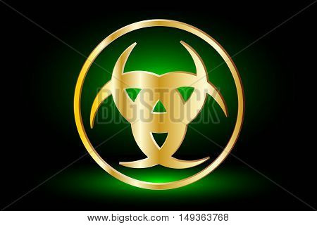 Three crescen t, The horn of Odin ,  three crescent symbol
