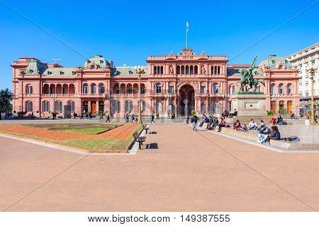 La Casa Rosada, Buenos Aires