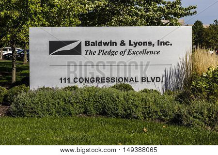 Carmel - Circa September 2016: Baldwin & Lyons headquarters underwriters of property and casualty insurance II