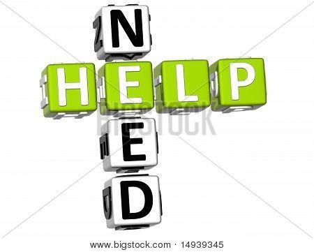 Need Help Crossword