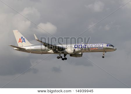 American Airlines Special Color Scheme