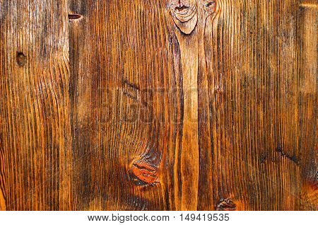 old, brown, texturing, wooden board. wooden background