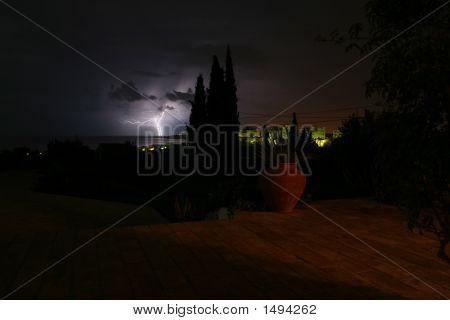 Lightning Over Lagos