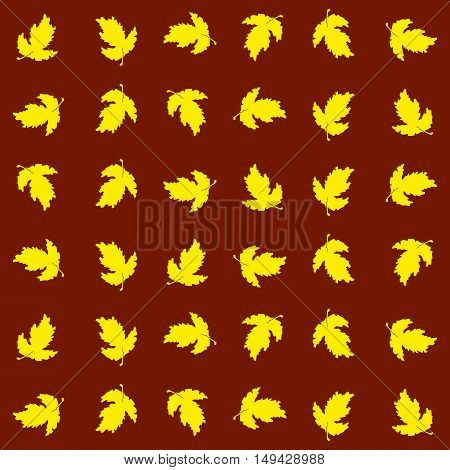 Seamless texture of autumn , in a disordered way. Suitable for holiday decoration , gifts and greeting cards