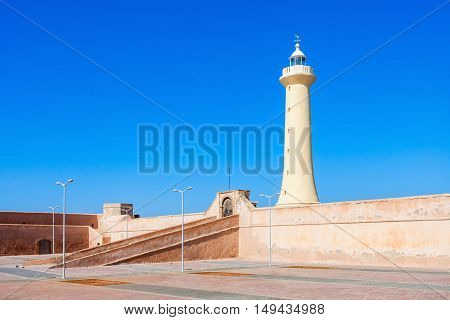 Lighthouse In Rabat