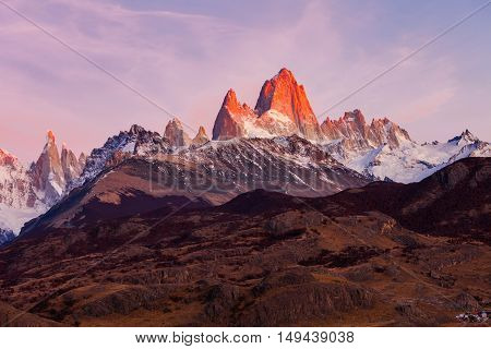 Fitz Roy Mountain, Patagonia