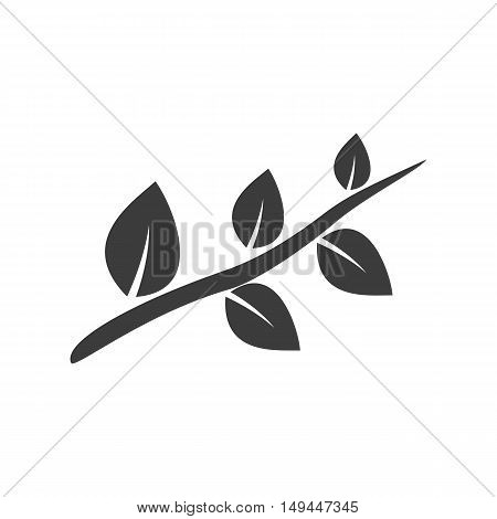 Petal icon. Petal Vector isolated on white background. Flat vector illustration in black. EPS 10