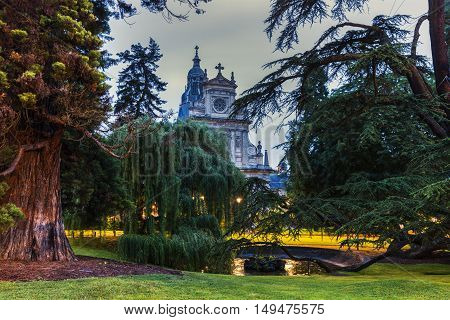 Saint-Vincent-de-Paul Church in Blois. Blois Pays de la Loire France
