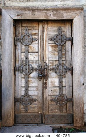 Old Fashion Door With Lock