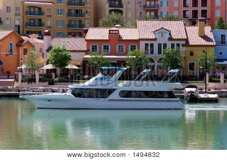 Luxury Yacht At Lake Las Vegas
