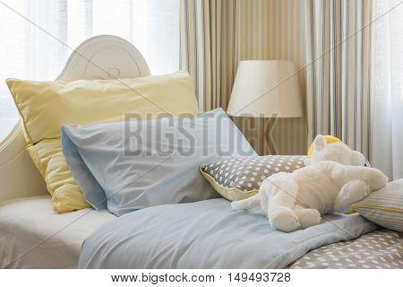 Kid's Bedroom Interior Design With Dolls
