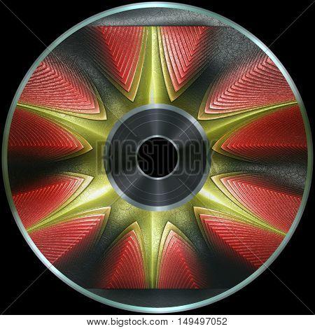 Premade Digital Media Disc Render