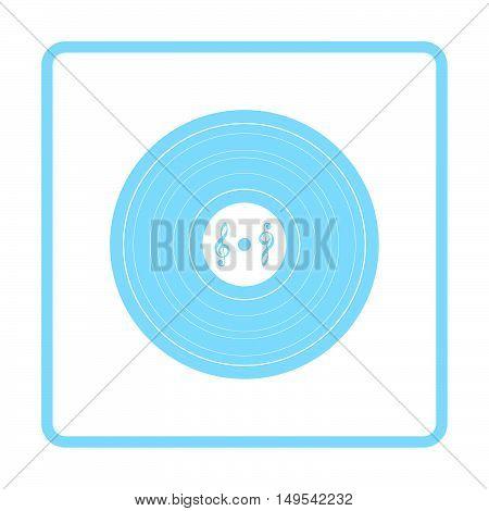 Analogue Record Icon