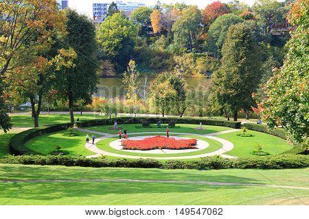High Park municipal park in Toronto, Ontario, Canada.