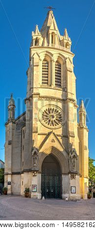 Santa Anna church in Montpellier - France