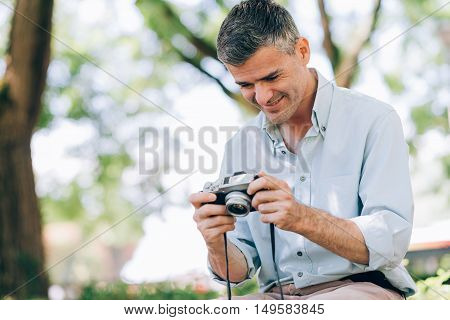Photographer At The Park