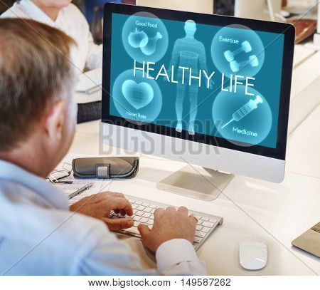 Health Well-being Wellness Vitality Healthcare Concept