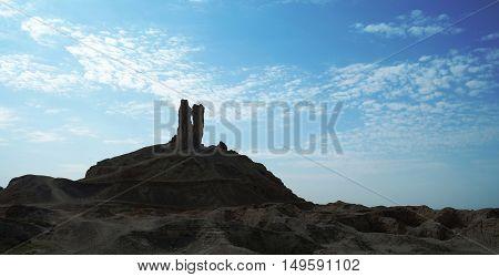 Ziggurat Birs Nimrud the mountain of Borsippa Iraq