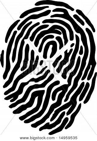 Thumb Print - X