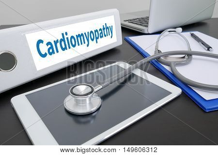 Cardiomyopathy Doctor work hard and Doctor medical