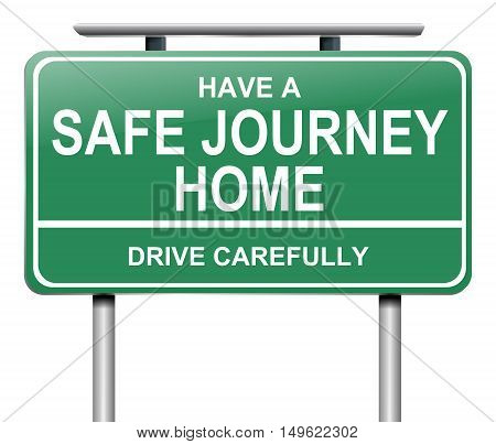 Drive Safely Sign.