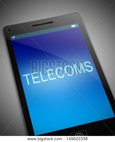 Telecoms Concept.