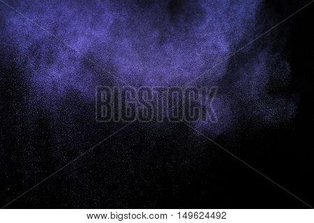 Purple Powder Explosion.