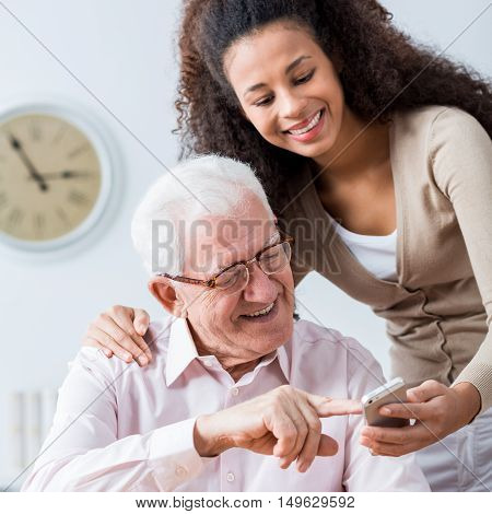 Never Too Old For New Technology