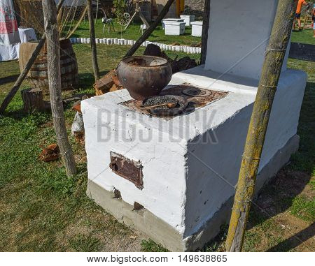 Russian Cossack Outdoor Oven