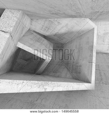 Architecture Background, 3D Illustration