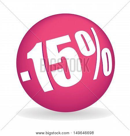 Fifteen Percent Off Sphere