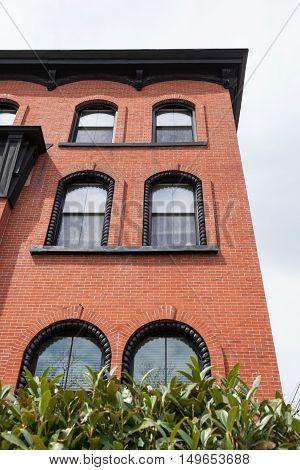 Brick Building Fascade
