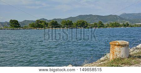 A peaceful stretch of Croatian coast near the village of Blace in Dubrovnik-Neretva County.