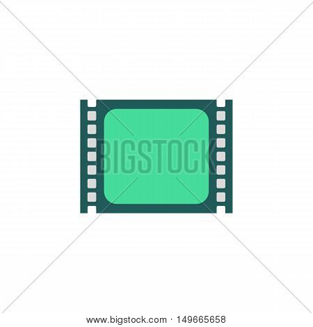 Player Icon Vector. Flat simple color pictogram